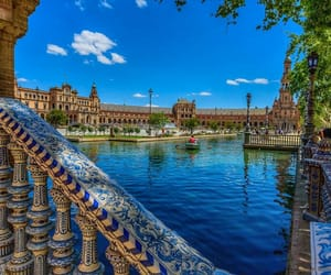 adventure, architecture, and canal image