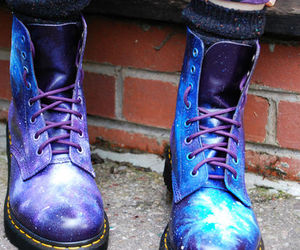 awesome, space, and dr. martens image