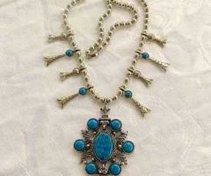 etsy, vintagevoguetreasure, and vintage necklace image