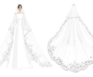arte, boceto, and bridal image