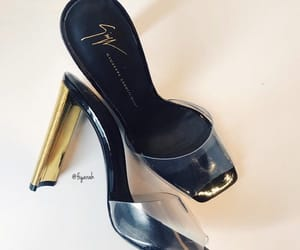 giuseppe zanotti, fashion style, and outfit clothes image