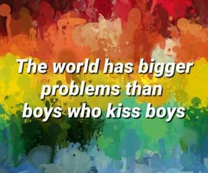 boys, lgbt, and love is love image