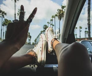 aesthetic, summer, and travelling image