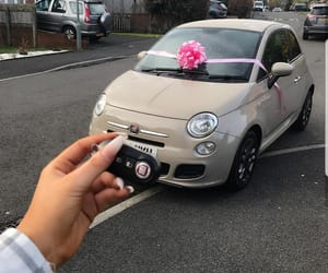 Dream, fiat 500, and girly image