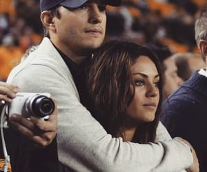love, couple, and Mila Kunis image