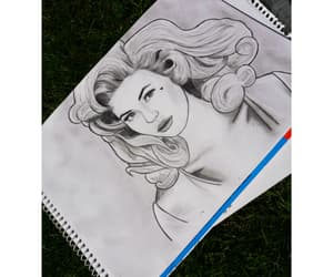 drawing, homewrecker, and electra heart image