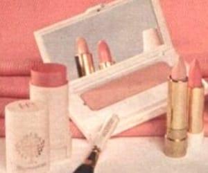 blush, lipstick, and pink image