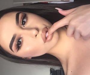 makeup, baddies, and tumblr image