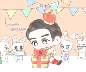 baby, bunny, and day image