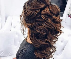 beauty, hair style, and hair goals image