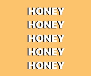 yellow, wallpaper, and honey image