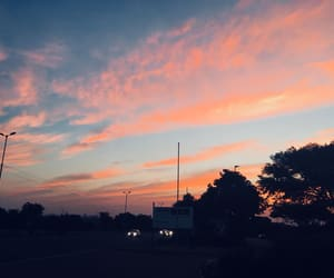 sky and sunset image