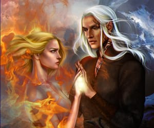 mates, throne of glass, and rowan whitethorn image
