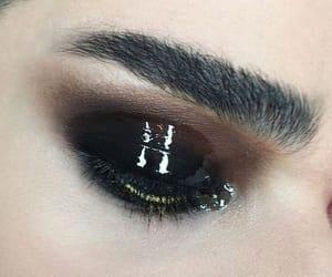 beauty, black, and black eye image