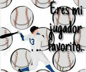 baseball, beisbol, and jugador image