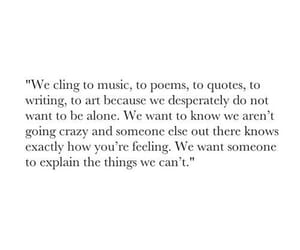 quotes, alone, and music image