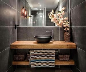 bathroom, home, and home decor image