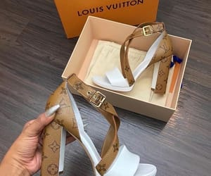 shoes, Louis Vuitton, and heels image