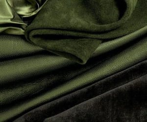green, aesthetic, and fabric image