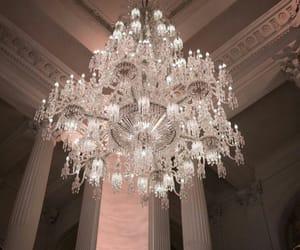 aesthetic, chandelier, and diamonds image