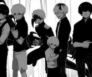 evolution, tokyo ghoul, and kaneki ken image