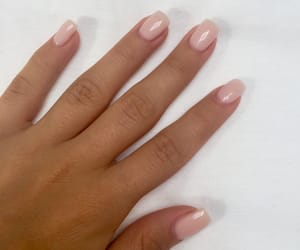 nails, natural, and Nude image