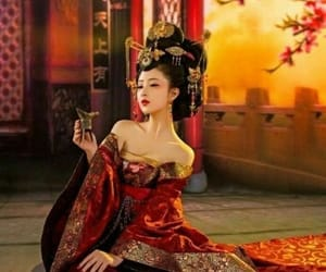 belleza, mujer, and oriental image