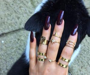 nail polish and nails goals image