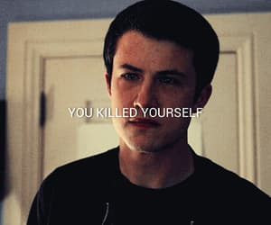 gif, 13 reasons why, and dylan minnette image