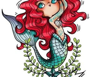 ariel and illustration image