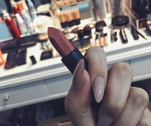 lipstick, nails, and nars image
