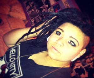 dreadlocks, punk, and dreads image