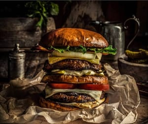 beautiful, burger, and coffee image