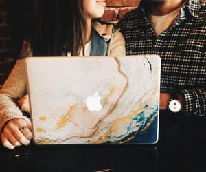 apple, paint, and painting image