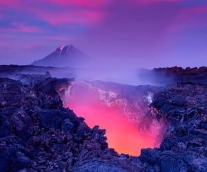 earth, nature, and lava image