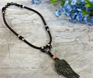 nature necklace, bohemian jewelry, and womens gift image