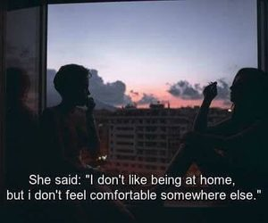 comfort, home, and quotes image