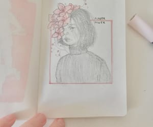 aesthetic, drawing, and pink image