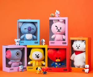 rj, chimmy, and line friends image