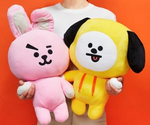 chimmy, line friends, and 우주스타 image