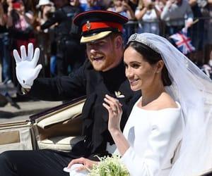 royal, wedding, and harry image