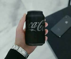 black, coke, and colors image