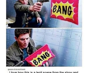 bloopers, dean winchester, and fandom image