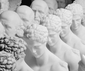 white, statue, and aesthetic image