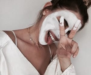face, face mask, and facial image