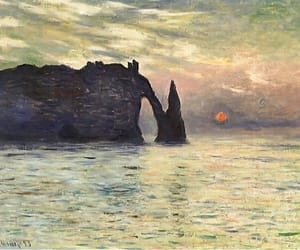 art, drawing, and monet image