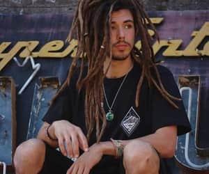 chico, cabello, and dreadlock image