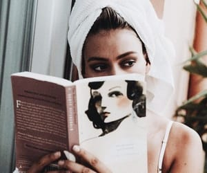 aesthetic, book, and chic image