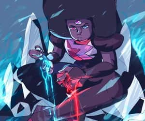 garnet, steven universe, and ruby image