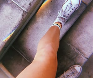 casual, converse, and sneakers image